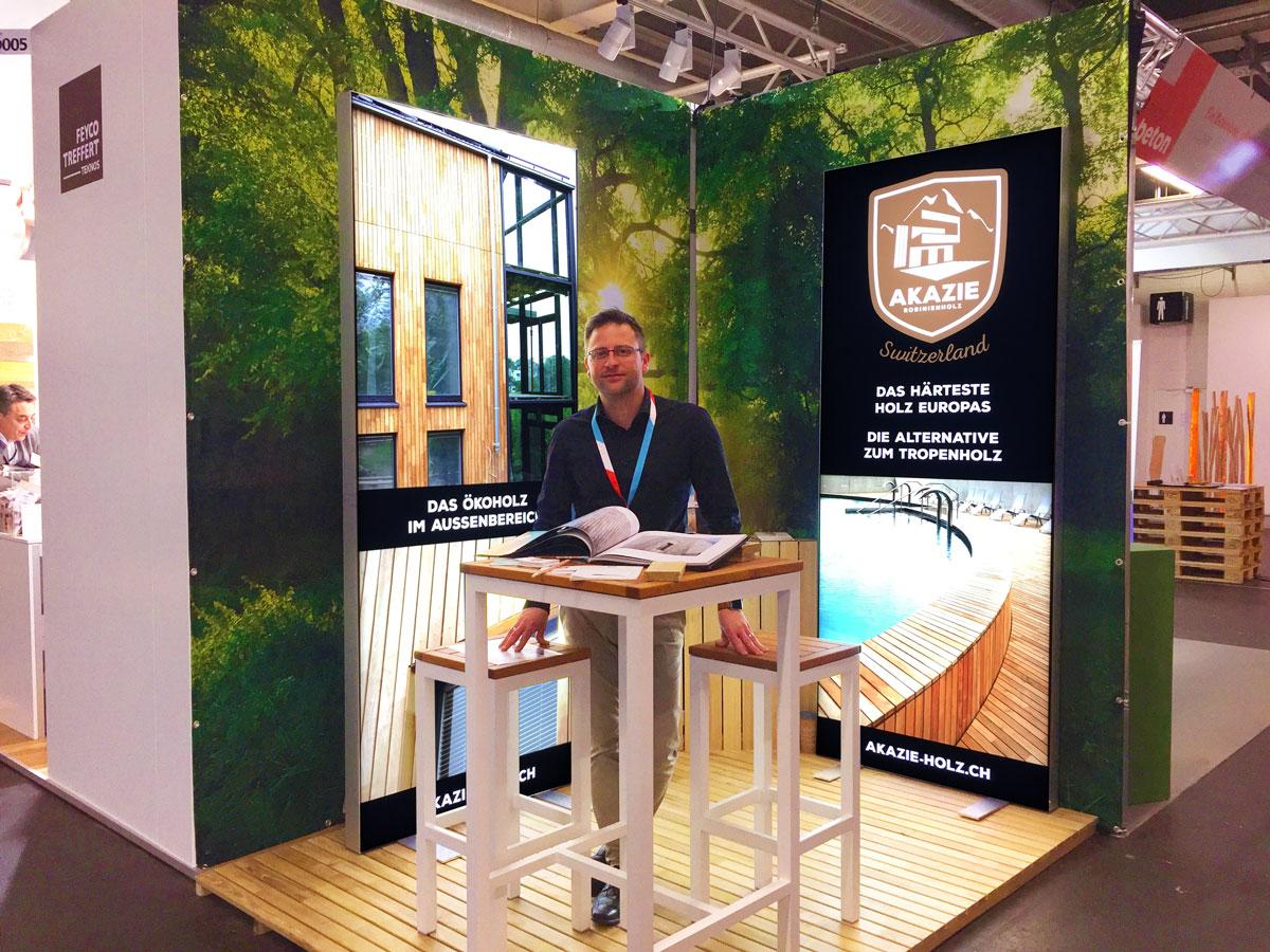 Akazienholz aus Robinie von Akazie AG